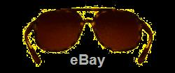Ray-Ban CHROMANCE RB 4312CH Matte Havana/Brown Gold Polarized Mirror Sunglasses