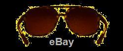 Ray-Ban CHROMANCE RB 4312CH Matte Havana/Brown Gold Polarized Mirror Sunglasses