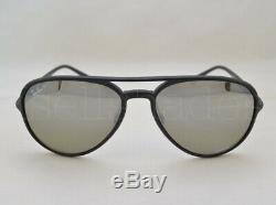 Ray Ban CHROMANCE (RB4320CH-601S5J 58) Matte Black with Grey Polar Mirror Lens