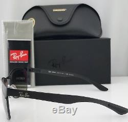 Ray Ban Carbon Chromance Sunglasses RB8319 Black / Silver Chromance Lens 186/5J