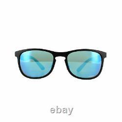 Ray-Ban Chromance Black Frame / Polarized Blue Mirror RB 4263-601SA1-55