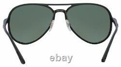 Ray-Ban Chromance Sunglasses RB 4320CH 601S5J 58 Black Silver Polarized