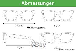 Ray-Ban Damen Herren Sonnenbrille RB3447 001 53mm Round Metal gold rund RB10