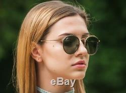 Ray Ban Double Bridge Sunglasses RB3647N 51/22 Gold Frame/Classic Lens