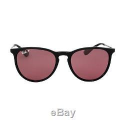 Ray-Ban Erika Classic Nylon Frame Violet Lens Sunglasses RB4171