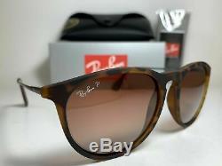Ray-Ban Erika RB4171 865/13 54mm Tortoise / Brown Gradient Polarized Sunglasses