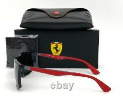 Ray Ban FERRARI RB4228M F60171 Black with Red / Green 58mm Sunglass
