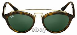 Ray-Ban GATSBY II Sunglasses RB 4257 710/71 50 Tortoise Frame Green Lens