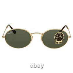 Ray Ban Green Classic G-15 Oval Sunglasses RB3547N 001 51 RB3547N 001 51