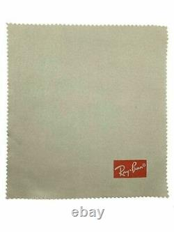 Ray Ban Hard Black Sunglasses Glasses Case with Free Ray Ban Cleaning Cloth