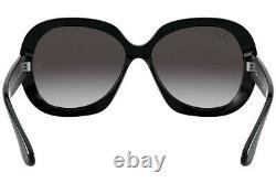 Ray-Ban Jackie Ohh II Black Sunglasses RB4098 601/8G 60/ RB4098601/8G-60