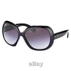 Ray-Ban Jackie Ohh II RB 4098 601/8G Black Plastic Sunglasses Grey Gradient Lens