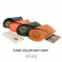 Ray-Ban Justin Classic Black Nylon Frame / Blue Mirror Lenses RB4165-622/55-55