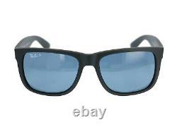 Ray-Ban Justin Men's Polarized Blue Classic Sunglasses RB4165 622/2V 55-16