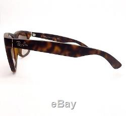 Ray Ban Justin RB 4165 710/13 Matte Havana Gradient New Authen Buyer Picks Size