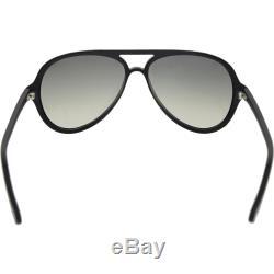 Ray-Ban Men's Aviator RB4125-601/32-59 Black Aviator Sunglasses