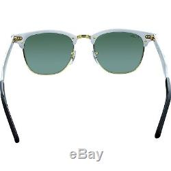 Ray-Ban Men's Clubmaster RB3507-137/40-51 Silver Sunglasses