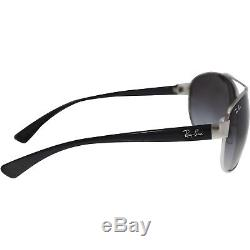 Ray-Ban Men's Gradient Active RB3386-003/8G-63 Silver Aviator Sunglasses