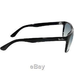 Ray-Ban Men's Polarized Highstreet RB4181-601/9A-57 Black Square Sunglasses