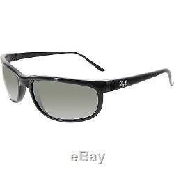 Ray-Ban Men's Polarized Predator RB2027-601/W1-62 Black Rectangle Sunglasses
