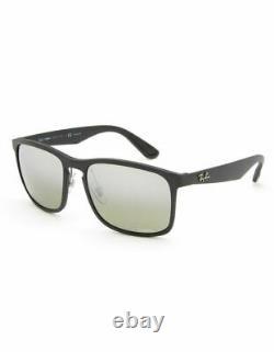 Ray-Ban Men's RB4264-601S5J58 Chromance 58mm Matte Black Sunglasses