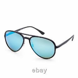 Ray-Ban Men's RB4320CH-601SA158 Designer 58 mm Black Frame Sunglasses