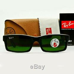 Ray-Ban Men's Sunglasses Black WithGreen Polarized Lens RB4151 601/2P