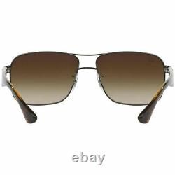 Ray-Ban Men's Sunglasses withBrown Gradient Lens RB3516 004/13