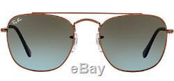 Ray-Ban Men's Vintage Caravan Sunglasses with Gradient Glass Lens RB3557 900396
