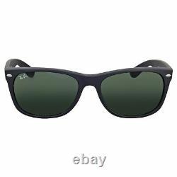 Ray-Ban NEW Wayfarer Sunglasses Black Frame / Classic Green G-15 RB2132-622-58