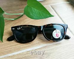 Ray-Ban NEW Wayfarer Tortoise Frame / G-15 Polarized Lenses RB 2132 902/58 55