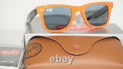 Ray Ban New Sunglasses Wayfarer Orange Blue Polarized RB2140 124252 50 150