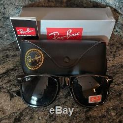 Ray-Ban New Wayfarer Classic Sunglasses 52mm(Black/green) DELIVERY IN 2-4 DAYS