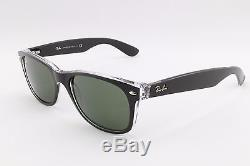 Ray Ban New Wayfarer RB2132 6052 55mm Retro Classic Sunglasses 100% Authentic