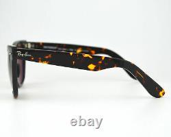 Ray Ban Original Wayfarer Classics Tortoise Polarized Brown Unisex Sunglasses