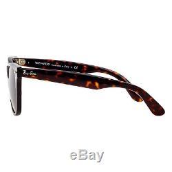 Ray-Ban Original Wayfarer RB2140F 902 54mm Tortoise Frame Green Lens Sunglasses