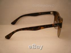 4afa04a1745 Ray Ban Oversize Clubmaster Matte Tortoise w Brown Gradient Lens (RB4175 878  51)