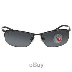Ray Ban Polarized Grey Gradient Sunglasses RB3183 002/81 63