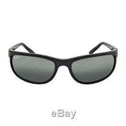 Ray Ban Predator 2 Grey Polarized Sunglasses RB2027 601/W1 62-19 RB2027 601/W1