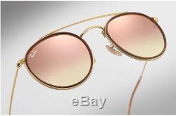Ray Ban RB 3647n 001/70 DoubleBridge Round Größe 51 Sonnenbrille Angebot heute