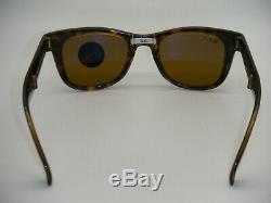 Ray-Ban RB 4105 710/57 50mm Folding Wayfarer Light Havana Frame Brown Polarized