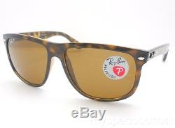 Ray Ban RB 4147 710/57 60mm Havana Brown Polarized New 100% Authentic Sunglass