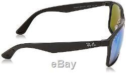 Ray Ban RB 4264 601SA1 Polarized Blue Mirror Chromance Sunglasses Italy New