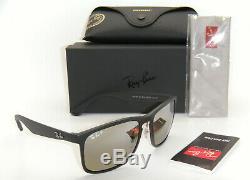 Ray-Ban RB 4264CH 601S/5J 58mm Black / Grey Mirror Gradient Polarized Chromance