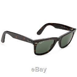 Ray-Ban RB2140 50mm Original Wayfarer Polarized Sunglasses (Tortoise/Green)