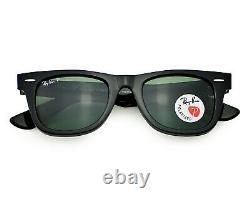 Ray-Ban RB2140 Wayfarer Classics 901/58 Black Frame / Polarized G-15 Lenses 50mm