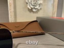 Ray-Ban RB3447 112/58 Gold Frame Green Polarized