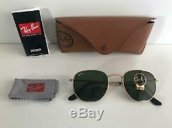 Ray Ban RB3548 Hexagonal Flat Lenses Green Classic G15