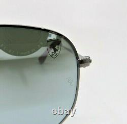 Ray-Ban RB3548NM F001/30 SCUDERIA Ferrari Collection Lt. Blue New Sunglasses Box