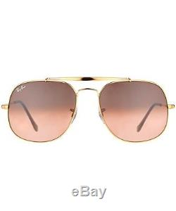 Ray-Ban RB3561 9001A5 General Sunglasses Metal Frame Pink/Brown Gradient Lenses